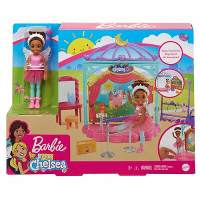 Barbie Club Chelsea Doll Ballet Playset