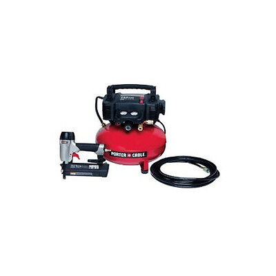 Porter-Cable Brad Nailer & Compressor Combo Kit PCFP12236 Reconditioned