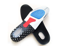 New Unisex Orthotic Arch Support Shoe Pad Sport Running Gel Insoles Inserts.