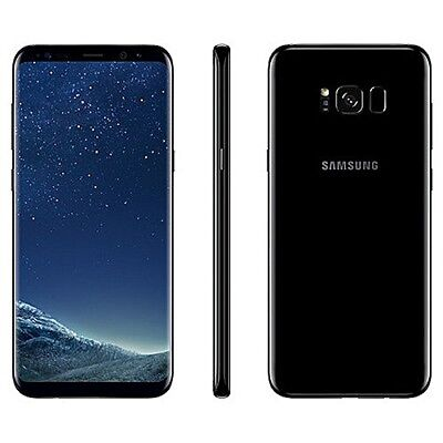 Unlocked Samsung Galaxy S8 G950U G950U1 Black AT&T TMobile Cricket GSM Used