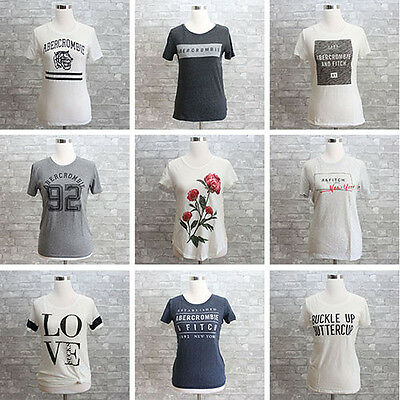 New Abercrombie & Fitch Womens Graphic Tee T Shirt NWT