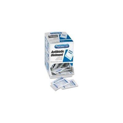 Acme United Triple Antibiotic Ointment Box Dispenser - Cut, Burn, Scrape - 50 /