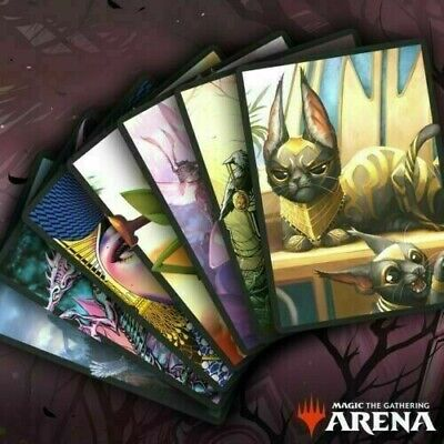 MTG Secret Lair 2019 Bundle MTG Arena Sleeves Digital Redemption Code