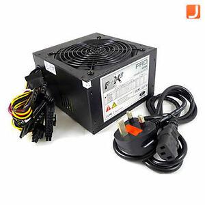 Sumvision Power X3 PRO 600W Power Supply 600 Watt SATA ATX PC PSU
