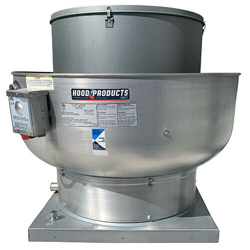 "Commercial Restaurant Kitchen Exhaust Fan – 2600 CFM 24.75"" Base / 1.0 HP / 115"