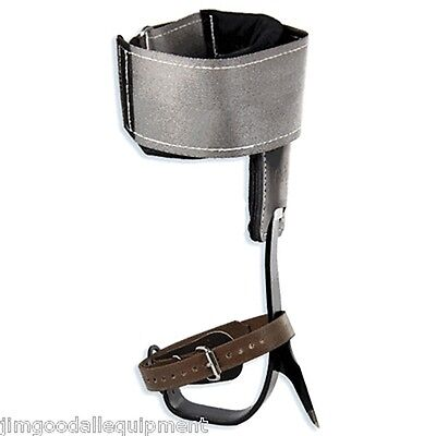 Buckingham Tree Climbing Spike Set W Steel Cushion Wrap Padshookloop Strap