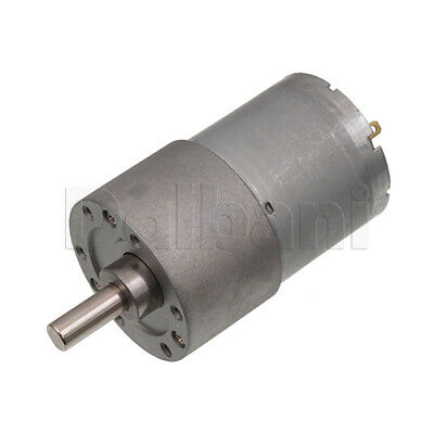 Dc Gear Motor High Torque 37gb 12v 100rpm 528 For Diy Robotics Arduino