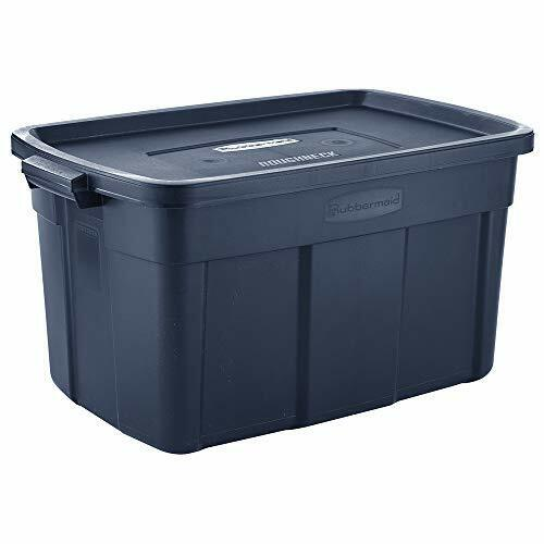 Rubbermaid Roughneck️ Storage Totes 31 Gal Pack of 3 Durable, Reusable, Set of L