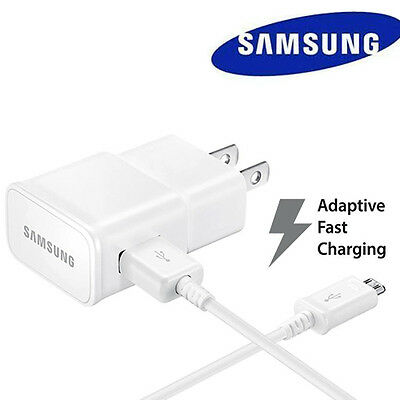 Fast Rapid Wall Charger+5 Ft Cable For Samsung Galaxy S6 S7 Edge Note 4 Note 5