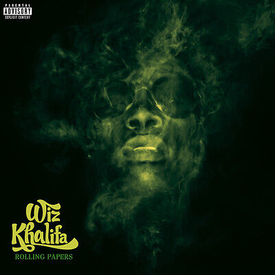 Wiz Khalifa   Rolling Papers  New Cd  Explicit