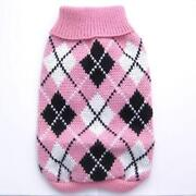 Argyle Dog Sweater
