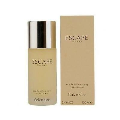 Escape by Calvin Klein 3.4 oz EDT Cologne for Men New In Box