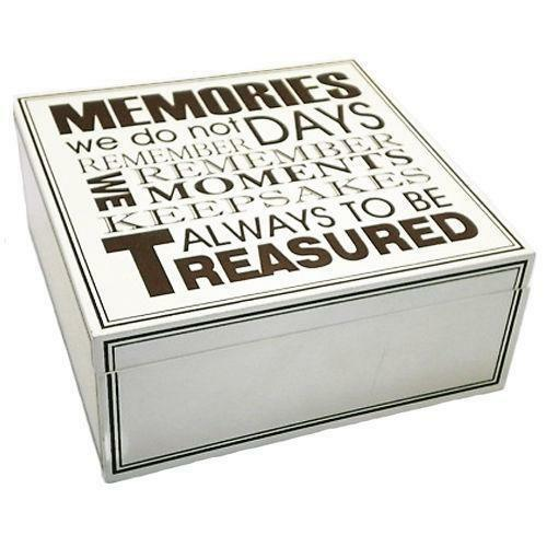 Wooden Wedding Keepsake Box