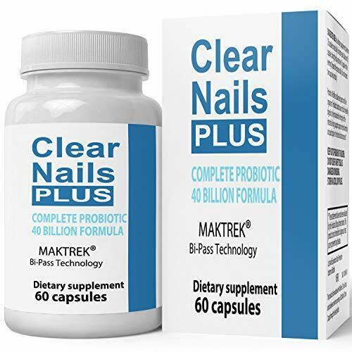 Clear Nails Plus Antifungal Probiotic Pills Formula Boost Metabolism Supplement
