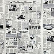 Newspaper Fabric