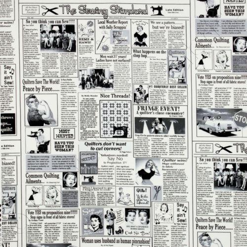 Newspaper Fabric Ebay