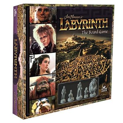 Jim Henson's Labyrinth Board Game River Horse  NEW Factory Sealed SHIPPING SOON