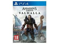 Assassin creed valhalla ps4