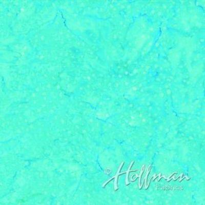 Peacock Hoffman Bali Batik - Hoffman Batiks Fabric - Bali Batik - #P2059-136 Peacock Confetti