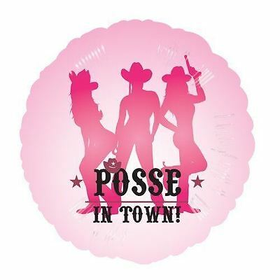 Girls Night Out Decorations (Hen Night- Party Posse Foil Balloons Girls Night Out Bachelorette)