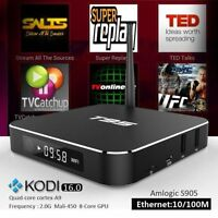 T95 S905 Quad core Android 5.1 tv box XBMC/KODI FULLY Loaded 4K