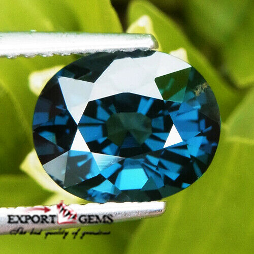 UNHEATED 2.64 CT NATURAL BLUE OVAL SPINEL MOGOK