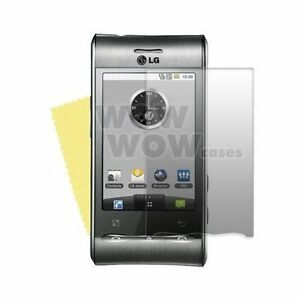 3 X Clear Screen Protector Film Cover For LG Optimus GT540 + 3 Cloth