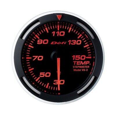 Defi DF06705 DF Red Racer Gauge SI Units 52mm Temperature