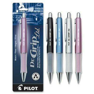 Pilot Dr. Grip Limited Retractable Rolling Ball Gel Pen Fine Point Assorted