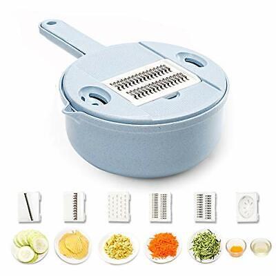 Vegetable Mandoline Slicer 10 in 1 Vegetable Spiralizer Cutter Veggie&Food Dicer