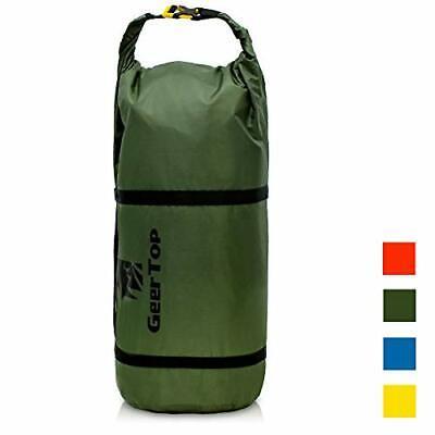 GEERTOP Waterproof Adjustable Tent Compression Bag Lightweight Duffel Bag for...