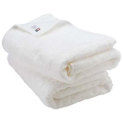 Bloom Imabari Towel Certified Leon Set of 2 Hotel San Hawkin Cotton White