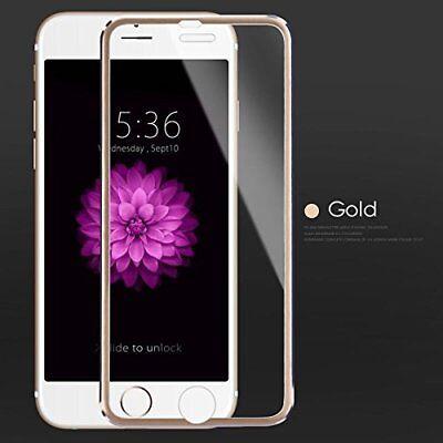 3D Full Cover IPHONE 7 Verre de Protection Pantalla Metal Borde Templado...
