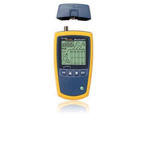 Fluke Networks MS2-100 MicroScanner2 Cable Verifier - RJ-45 10/100/1000Base-T