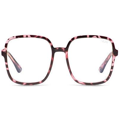 NEW QUAY AUSTRALIA 9 to 5 Blue Light Glasses in Pink Tortoise - (Glasses Sale Australia)
