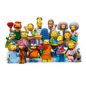 LEGO THE SIMPSONS series 2 complete set of 16 Minifigures