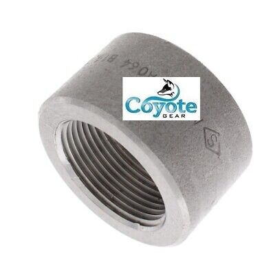 High Pressure 2 Npt Forged Steel Pipe Thread Half Coupling 3000 Coyote Gear