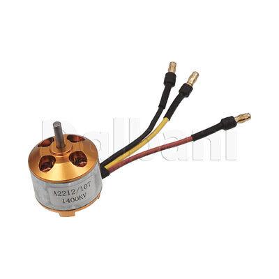 High Torque A2212 1400kv Brushless Motor Orange For Diy Robotics Arduino