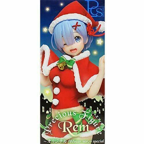Taito Re: Zero Precious Figure Figurine 23cm REM PVC Red Winter ver.