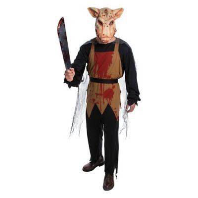 Adult Large  * PIG BUTCHER *  Halloween Costume NWT Men Women - Pig Costume Women