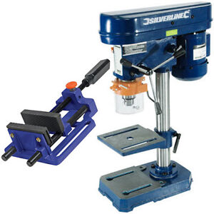 Rotary-Action-Bench-Press-Pillar-Drill-Press-Machine-100mm-Quick-Release-Vice