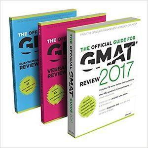 GMAT 2017 STUDY BUNDLE, NO MARKS