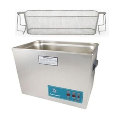 Crest P2600d-132 Ultrasonic Cleaner W Power Control-perf Basket