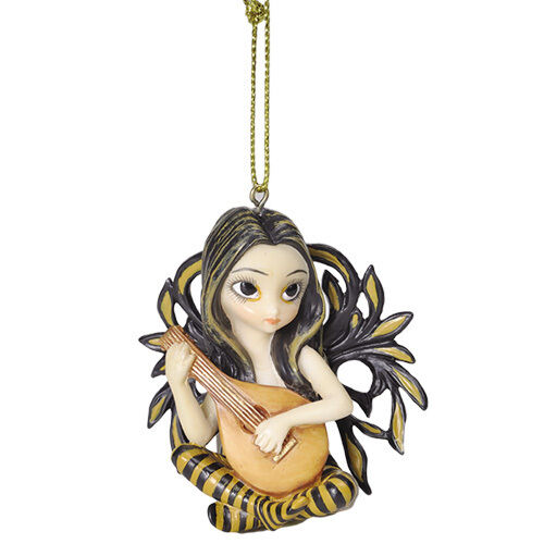 LUTE FAERY Fairy Ornament Jasmine Becket-Griffith Strangeling music faerie