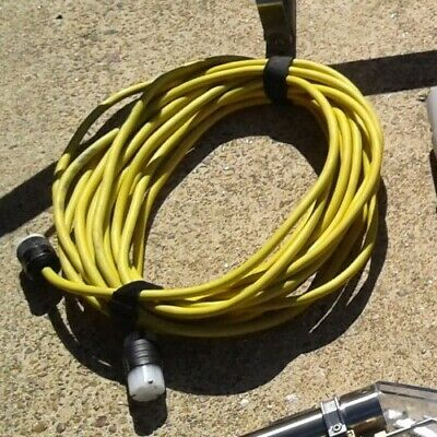 Twist Lock Power Cord For Edic Carpet Extractors 50 Feet Or Any Other Machines.