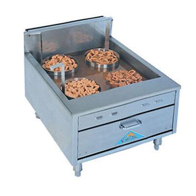 Comstock Castle 2923sf 23 Countertop Flat Bottom Funnelcake-doughnut Gas Fryer
