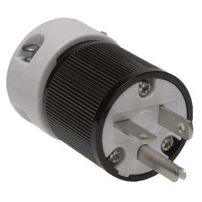 A Woodhead 5466 Safeway Plug Industrial Duty Straight Blade2p3wnema 6-20