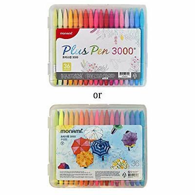 Monami Plus Pen 3000 Felt Tip Pens Fine Point 0.4mm Coloringdrawingjournali...