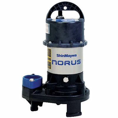 Shinmaywa 50cr2.75s Norus 7000 Gph 1 Hp Submersible Pump