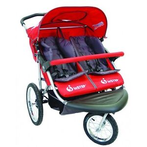 Red Instep Safari double stroller